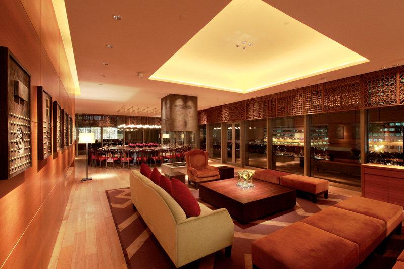 北京主席台餐厅中式风格室内装饰装修设计实景图