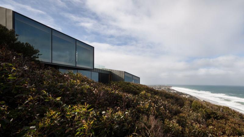 澳大利亚自然木制海滨别墅 工业风格住宅公寓空间室内装饰装修设计