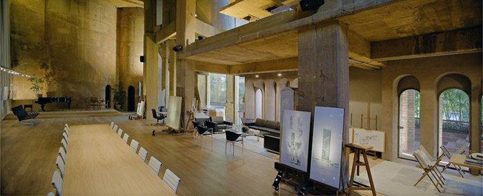 室内 办公空间装修 工业风格 魔幻水泥厂改建的里卡多波菲办公室总部
