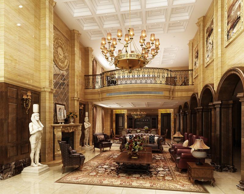 时尚家居 环境家居 室内设计效果图 欧式 古典 新古典 欧式风格住宅