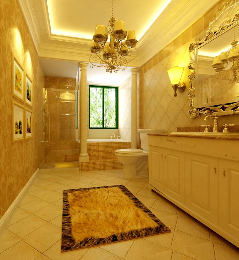 装饰设计室内设计效果图实景图欧式风格住宅空间装饰装修设计实景图