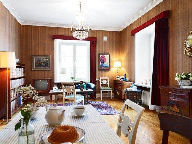 平米别样精致的单身公寓混搭风格住宅空间装饰装修设计实景图