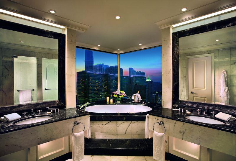 半岛酒店集团-香港欧式风格宾馆酒店室内装饰装修设计实景图