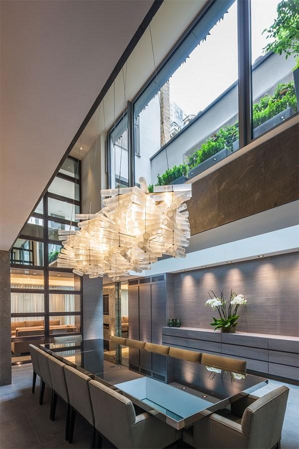 國外現代簡約風格住宅設計室內裝修設計效果圖實景圖