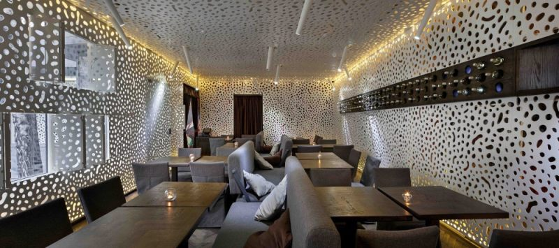 c.a.f.e. 咖啡店工业风格室内装饰装修设计实景图
