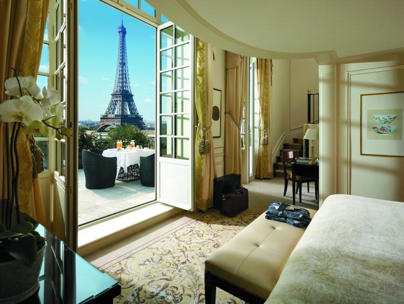 巴黎香格里拉大酒店欧式风格宾馆酒店室内装饰装修设计实景图