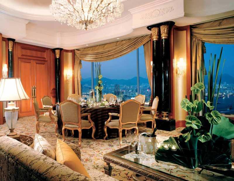 中国香港港岛香格里拉大酒店室内装饰装修设计实景图