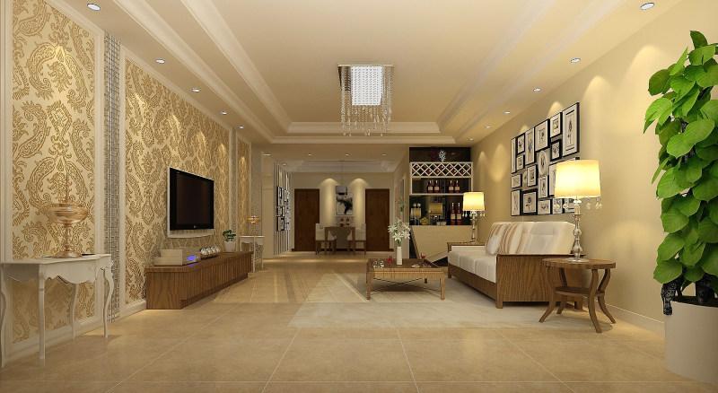 经典欧式风格经典住宅艺术装饰设计室内设计效果图实景图欧式风格住宅图片