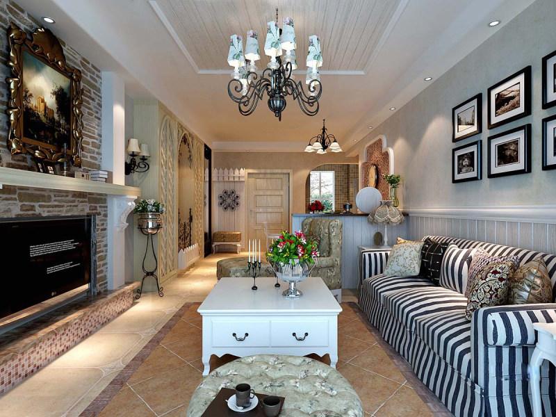 012欧式风格住宅空间装饰装修设计实景图