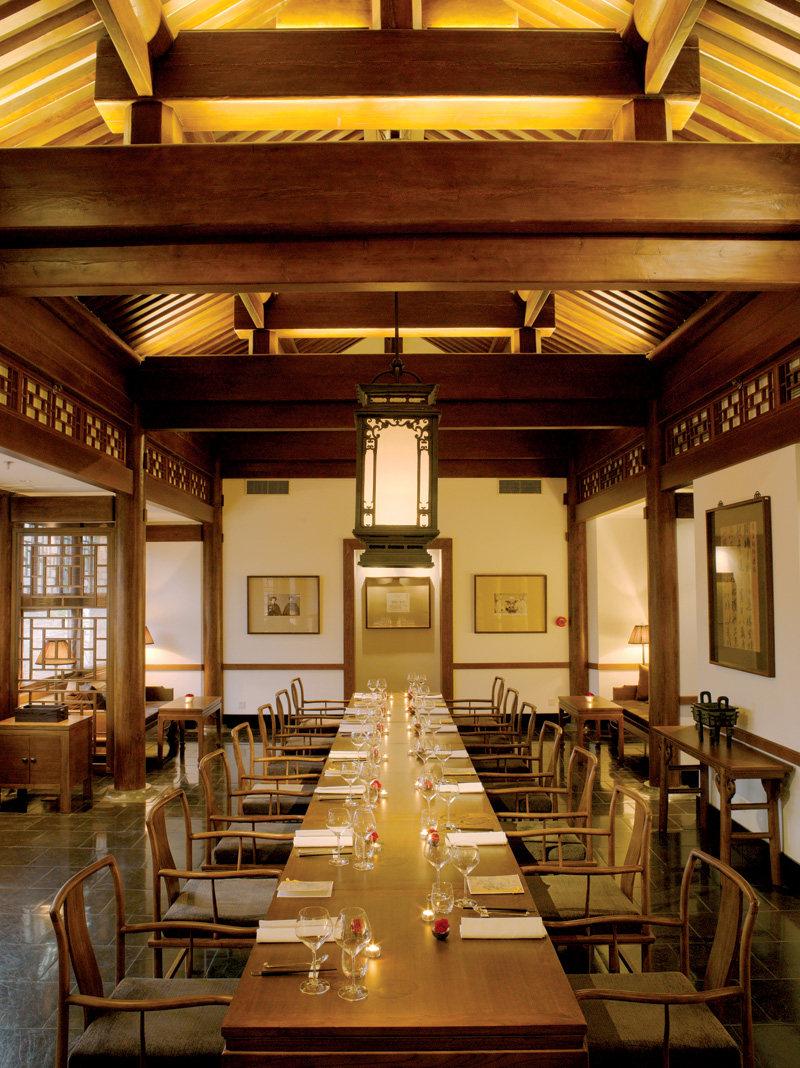 安缦馆中式风格室内装饰装修设计实景图