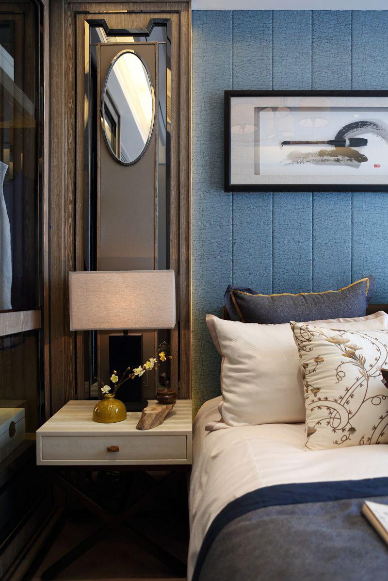 深圳华晖·云门项目样板房新中式风格住宅别墅家居家装室内装饰装修设