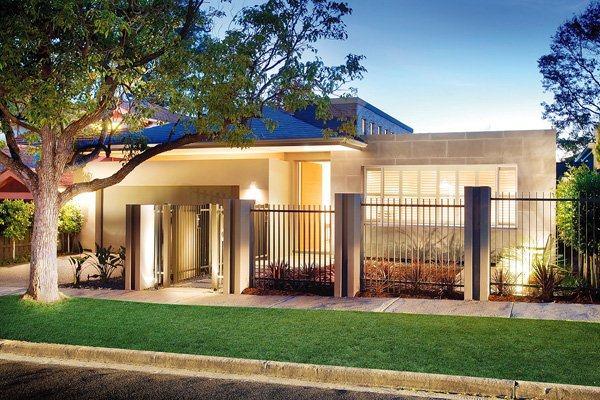 墨爾本現代簡約風格住宅設計室內裝修設計效果圖實景圖
