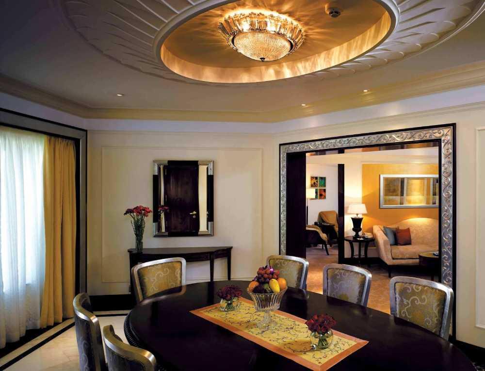 印度新德里香格里拉大酒店混搭风格宾馆酒店室内装饰装修设计实景图