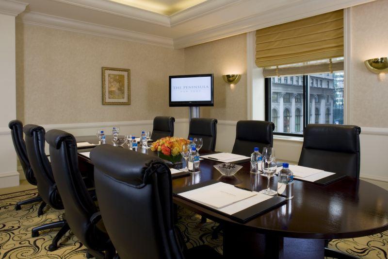 半岛酒店集团-纽约欧式风格宾馆酒店室内装饰装修设计实景图