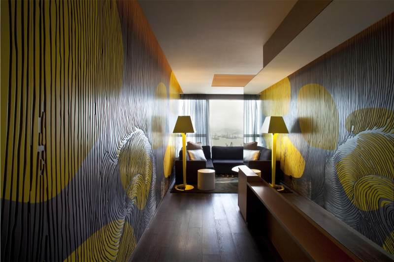 香港w酒店現代風格賓館酒店室內裝飾裝修設計實景圖圖片