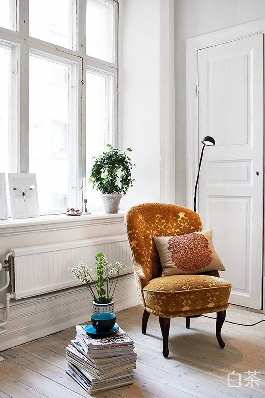 86平米简欧式白色公寓混搭风格住宅空间装饰装修设计实景图