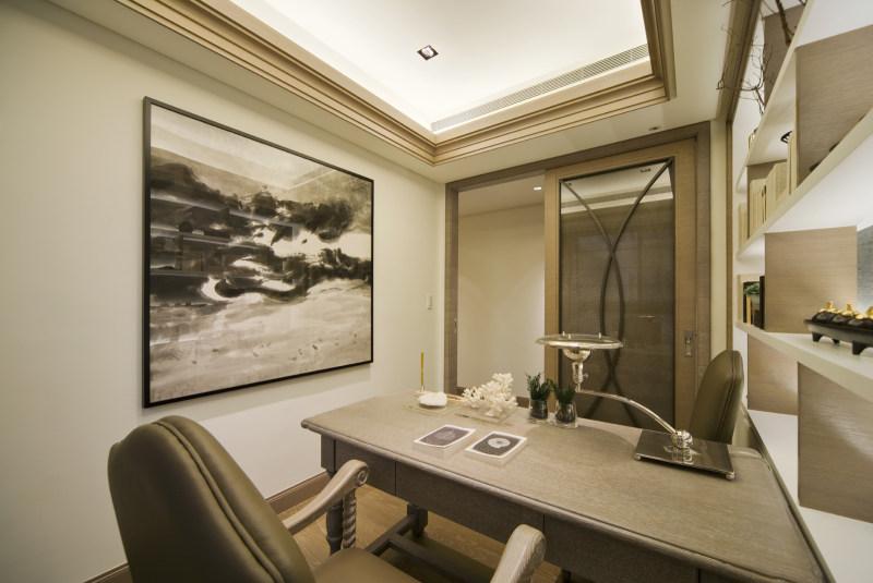 水世紀a2實品屋现代简约风格住宅设计室内装修家装设计实景图