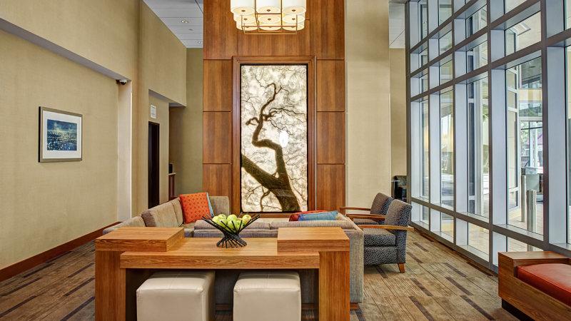 美国德拉海滩凯悦广场酒店混搭风格宾馆酒店室内装饰装修设计实景图