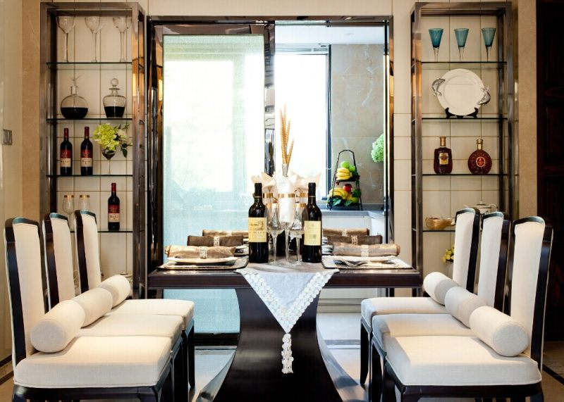 徐树仁设计--舟山风景合新中式风格住宅别墅家居家装室内装饰装修设计