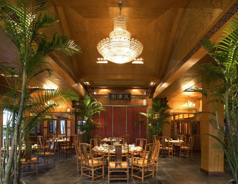 经典传统与现代相结合中式餐饮---那家盛宴中式风格室内装饰装修设计