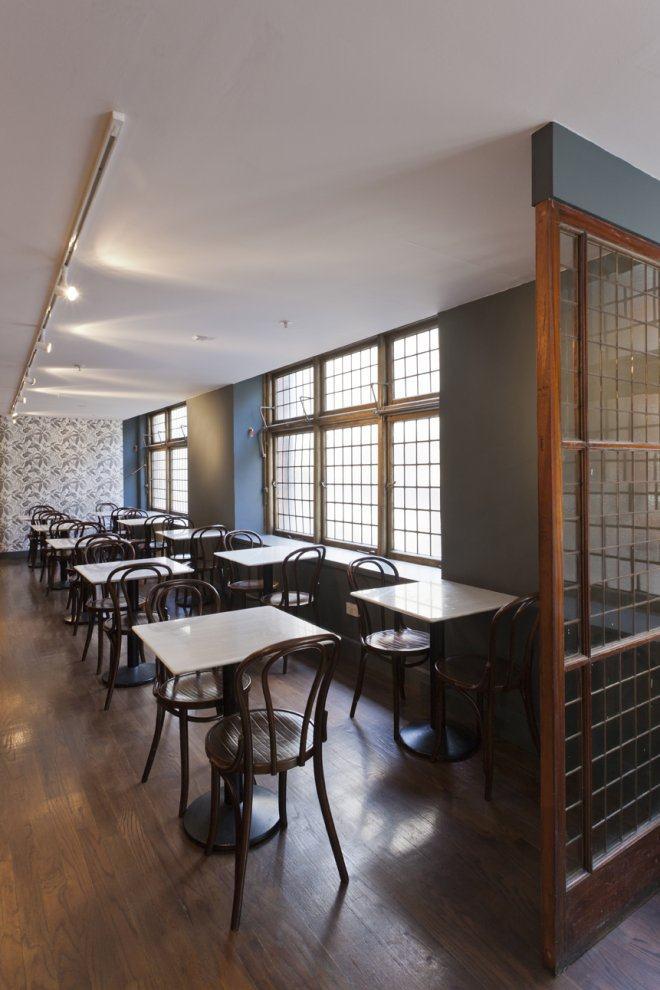 英国伦敦自由咖啡厅café liberty工业风格室内装饰装修设计实景图
