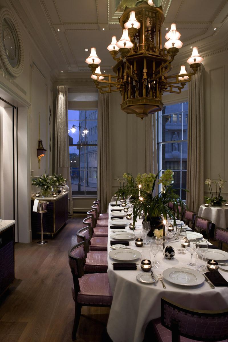 朗廷酒店集团伦敦欧式风格宾馆酒店室内装饰装修设计实景图
