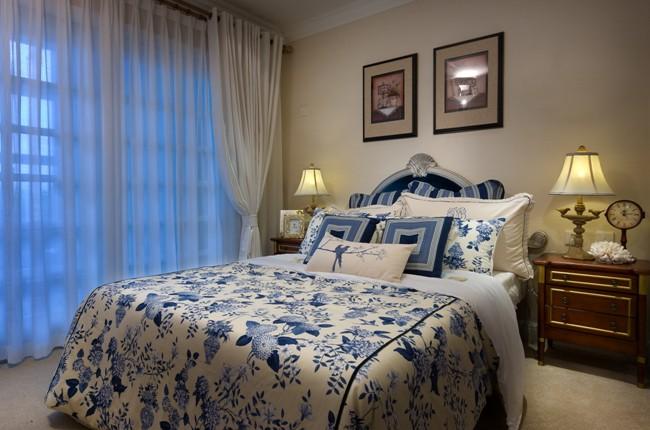 安徽小户型地中海风格软装实景欧地中海风格家装住宅空间装饰装修家装