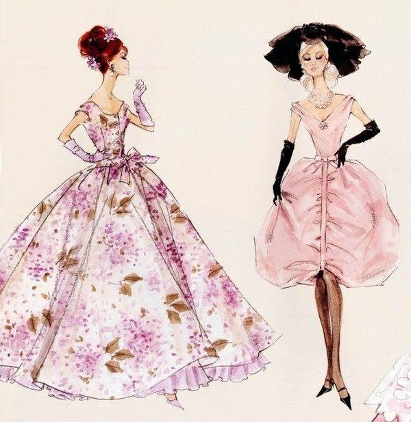 娃娃现代衣服图纸