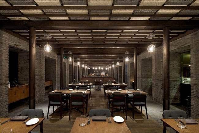 如恩——上海capo餐厅工业风格室内装饰装修设计实景图