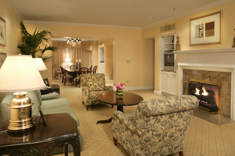 集团亨廷顿酒店及水疗中心欧式风格宾馆酒店室内装饰装修设计实景图