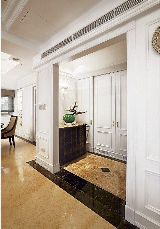 优雅美姿 诠释白色新古典欧式风格家装住宅空间装饰装修家装设计实景