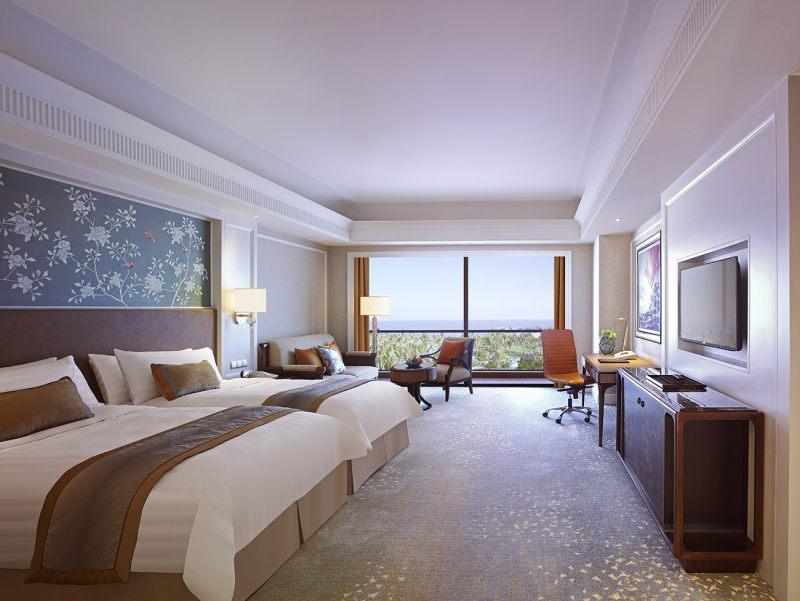 海口香格里拉大酒店欧式风格宾馆酒店室内装饰装修设计实景图