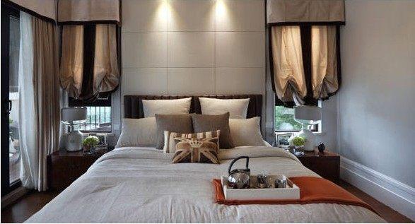 深圳曦城商业酒店公寓样板房古典风格家装住宅空间装饰装修家装设计实
