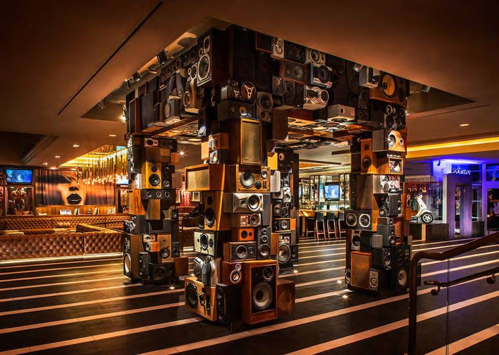 hard rock hotel by mister important design音乐主题混搭风格宾馆图片