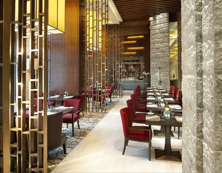 曼谷凯宾斯基饭店中式风格宾馆酒店室内装饰装修设计实景图