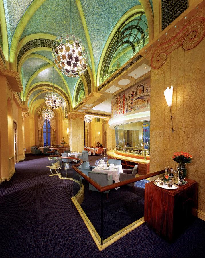凯宾斯基集团酋长国宫殿酒店欧式风格宾馆酒店室内装饰装修设计实景图