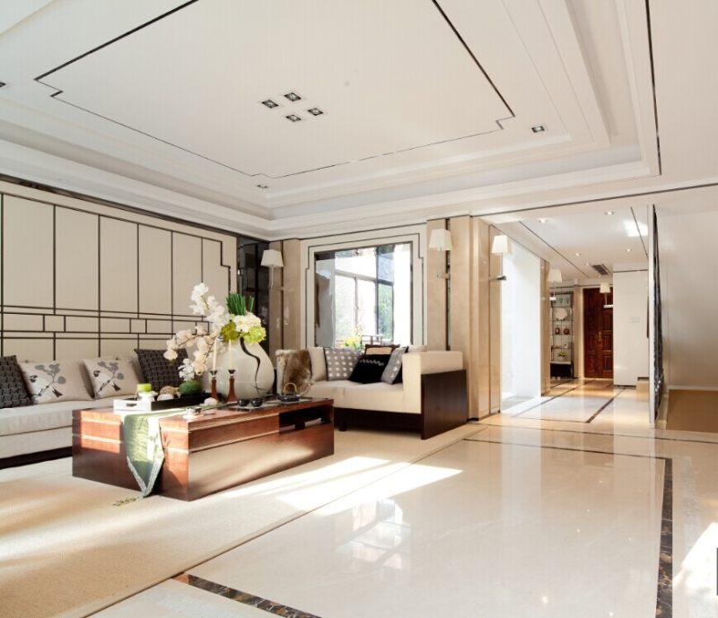 徐树仁设计--舟山风景合新中式风格住宅别墅家居家装室内装饰装修设