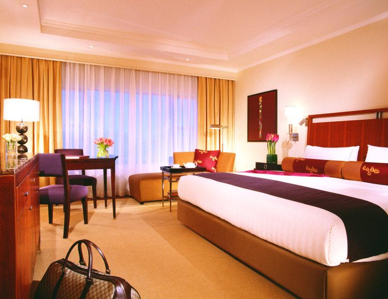 北京半岛酒店集团中式风格宾馆酒店室内装饰装修设计实景图