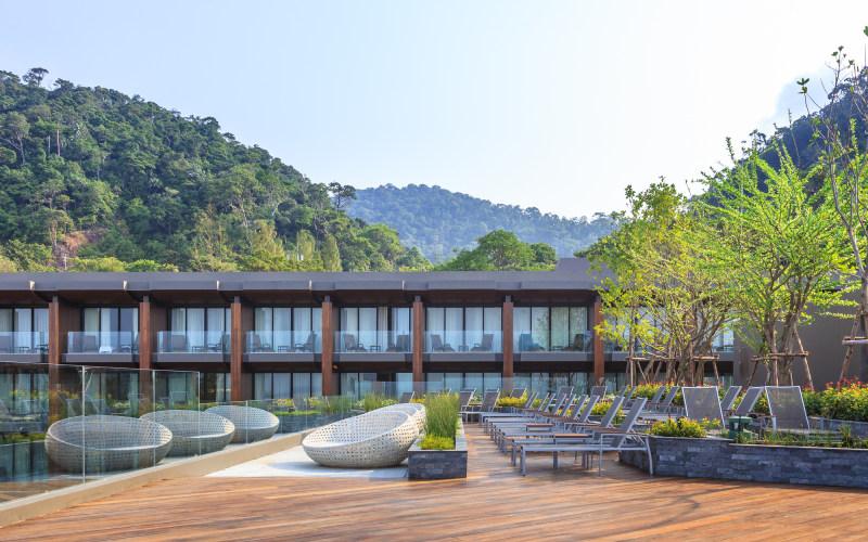 泰国象岛清新休闲格兰德度假村混搭风格宾馆酒店室内装饰装修设计实景