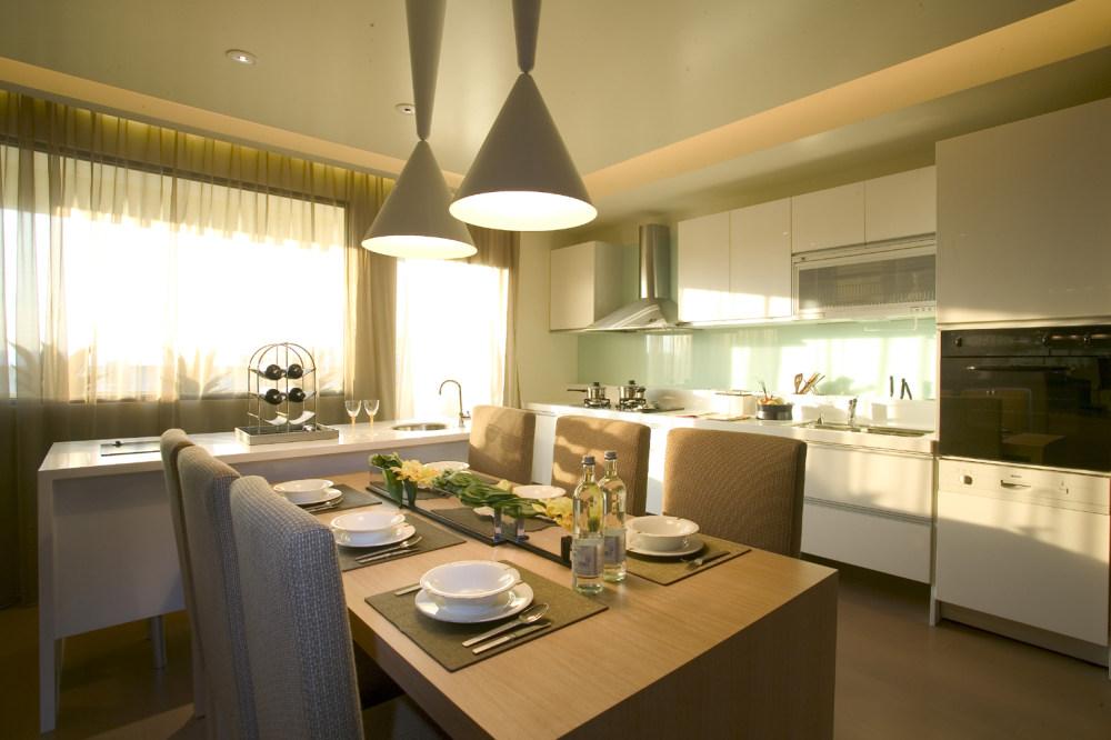 竹北样品屋现代简约设计住宅设计室内装修家装设计实景图自然风格
