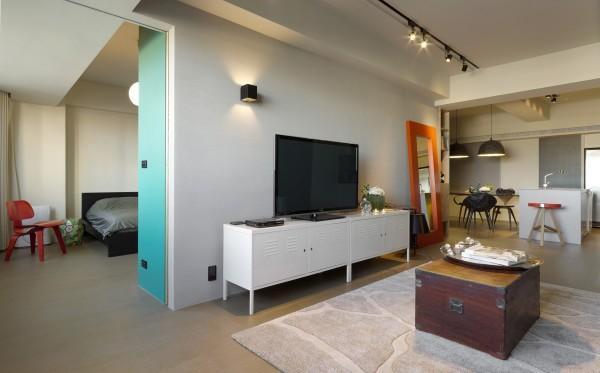 臺灣tiffany藍現代簡約風格住宅設計室內裝修家裝設計