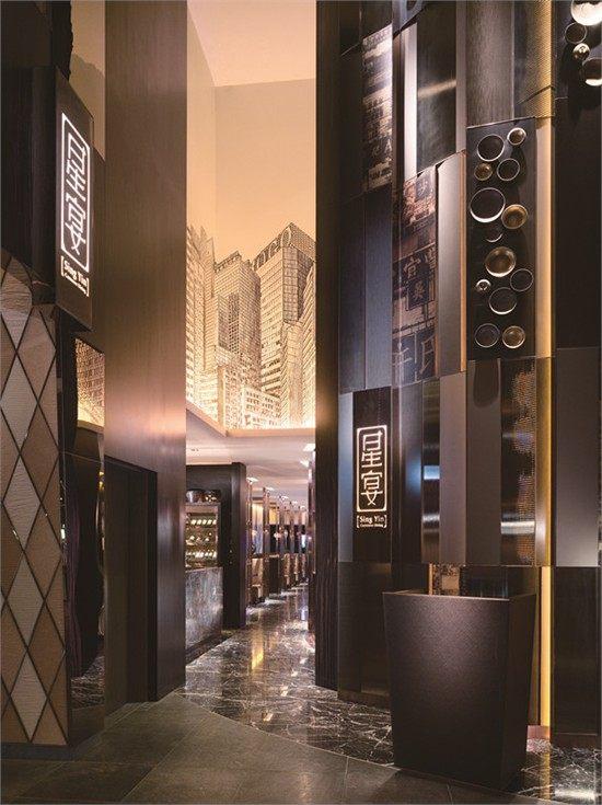 梁志天-2010金轩中餐厅,星宴中式风格室内装饰装修设计实景图