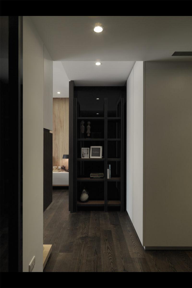 张祥镐台北信义路新中式风格住宅别墅家居家装室内装饰装修设计实景