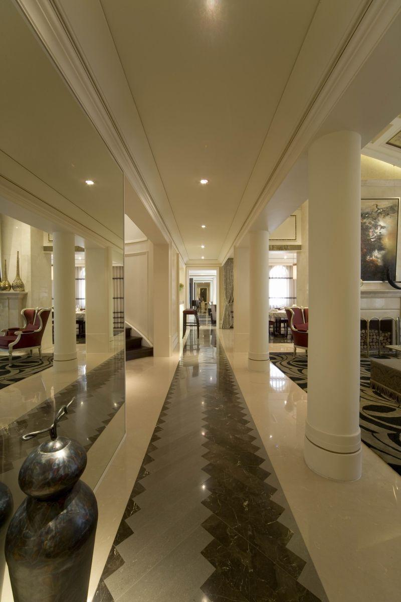 沈阳万科兰桥圣菲售樓處现代简约风格室内装修家装设计实景图
