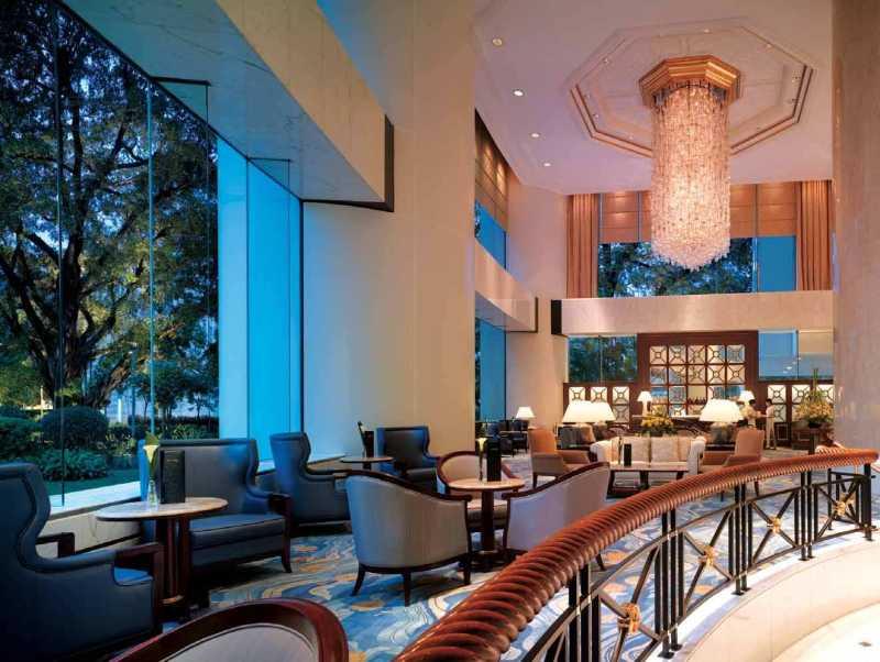 香港港岛香格里拉大酒店室内装饰装修设计实景图