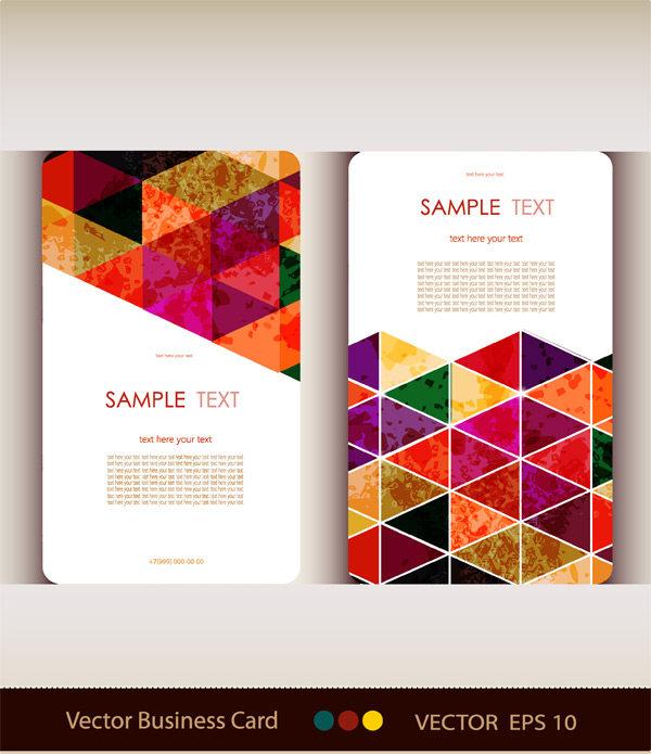 平面/廣告 卡片 名片設計 創意圖形名片設計模板下載  搜索
