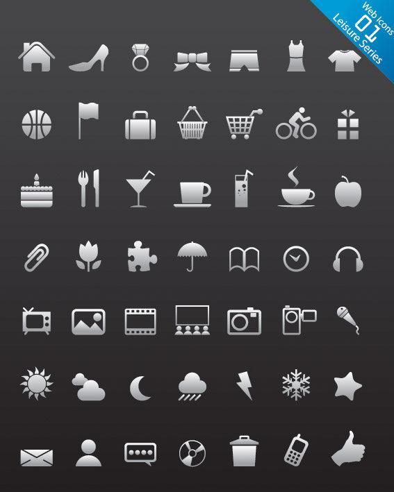 gui 图标 简单icon图标合集  图标素材图标设计图标下载创意图标设计