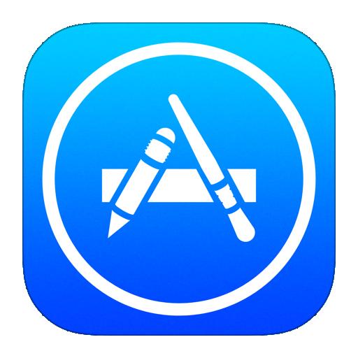 gui 图标 app store app应用商店扁平化图标  图标素材图标设计图标