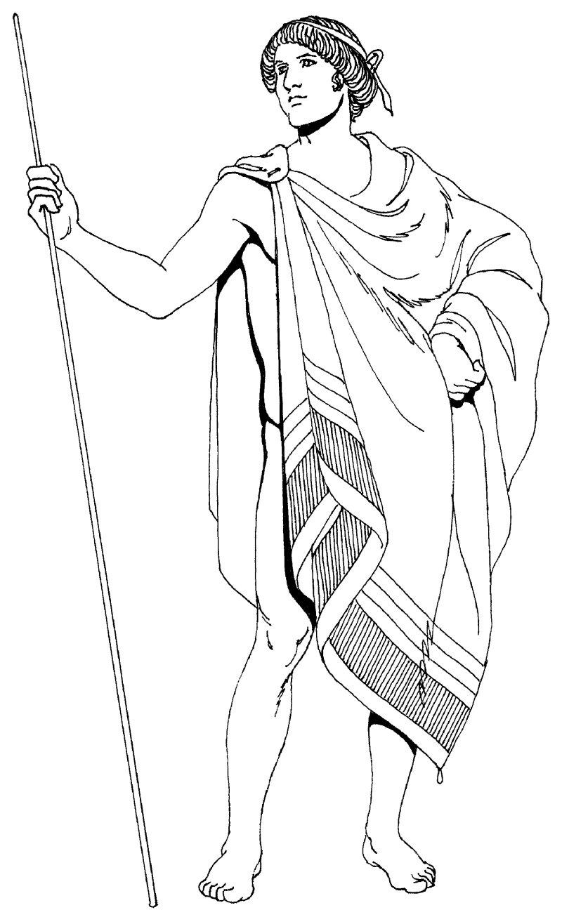 中世纪人物速写图案素材jpg-(图片编号:1000079090)