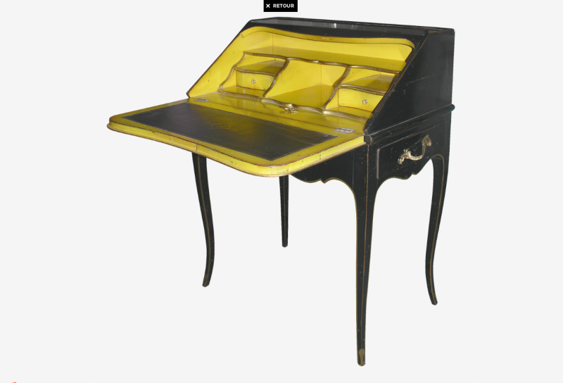 软装家具设计欧式家具欧式风格欧式软装欧式桌子白底家具图片素材书桌